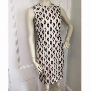 Yigal Azrouël silk print tailored / shift dress